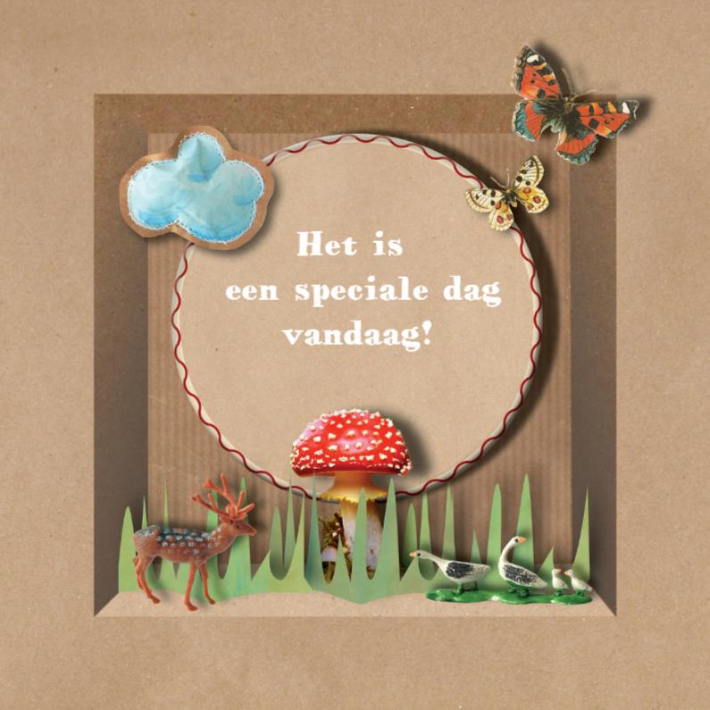 Verjaardagskaarten - BrownPaperBox Monday DayDream