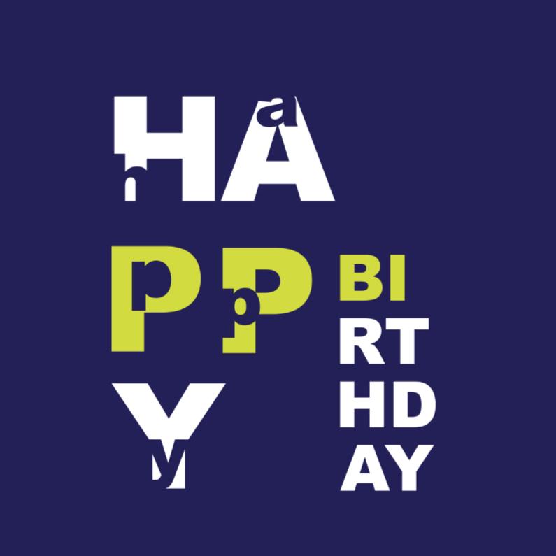 Verjaardagskaarten - brthdy
