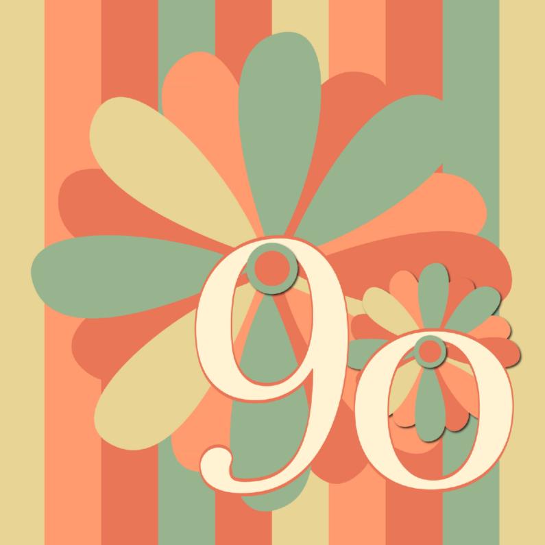 Verjaardagskaarten - flower90