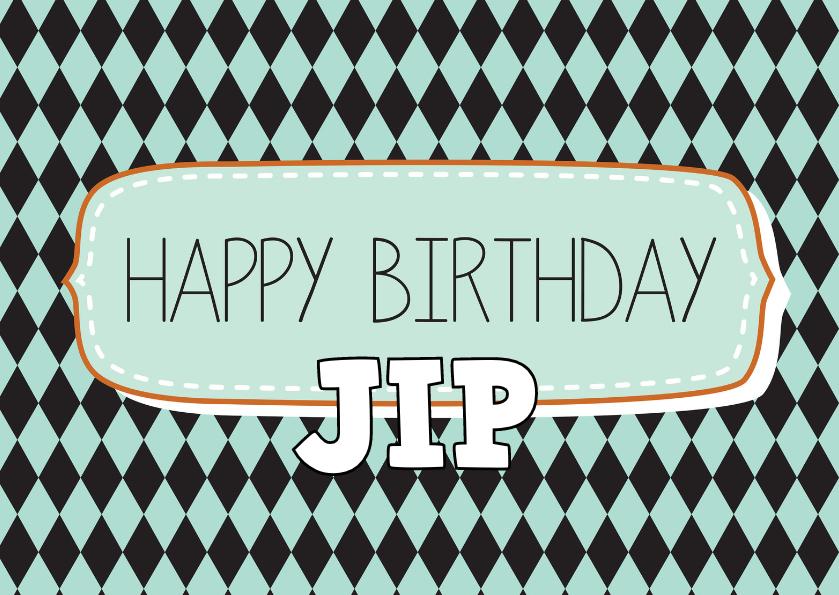 Verjaardagskaarten - Happy Birthday P03