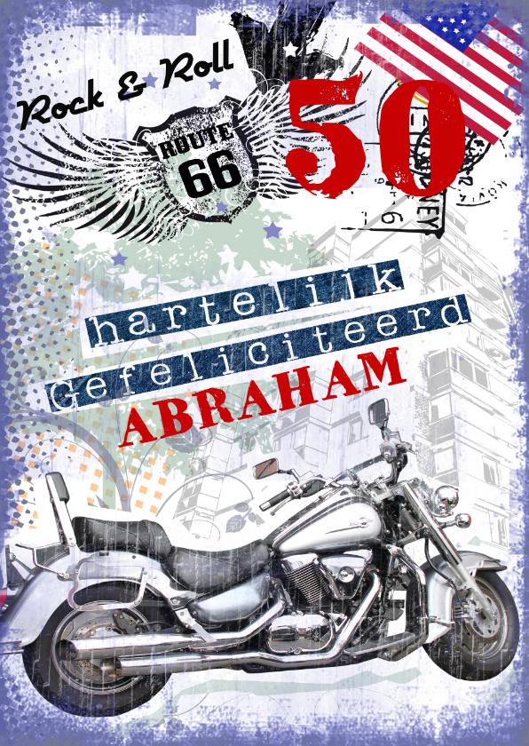 Verjaardagskaarten - Hartelijk Gefeliciteerd abraham