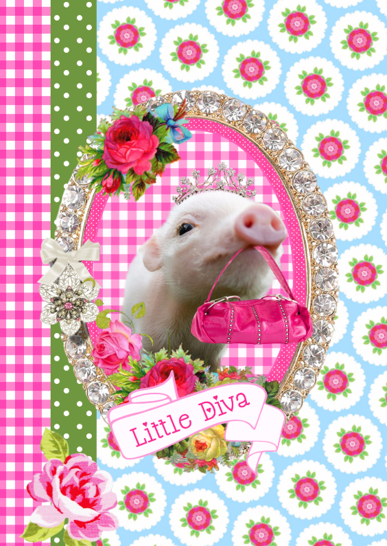 Verjaardagskaarten - Little Diva