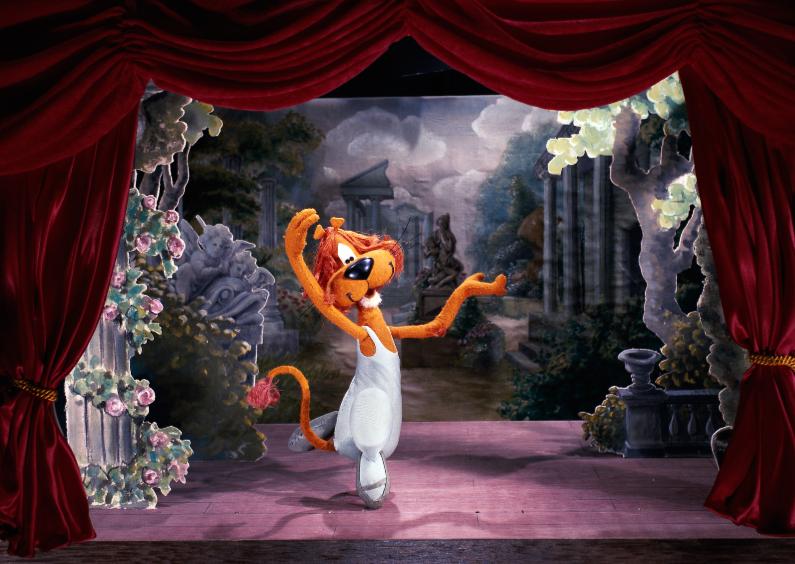 Verjaardagskaarten - Loeki de Leeuw prima ballerina