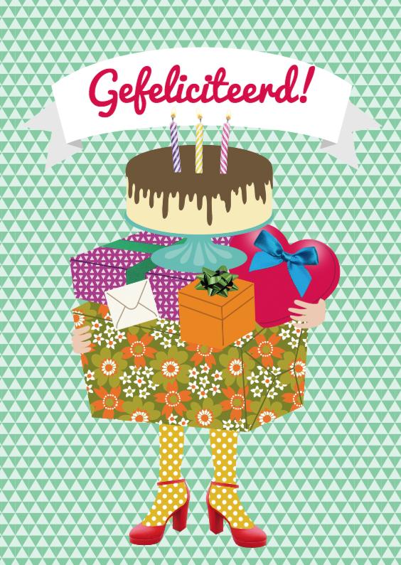 Verjaardagskaarten - Lopend kadootje