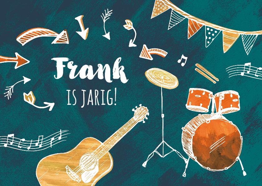 Verjaardagskaarten - Muzikale verjaardagskaart