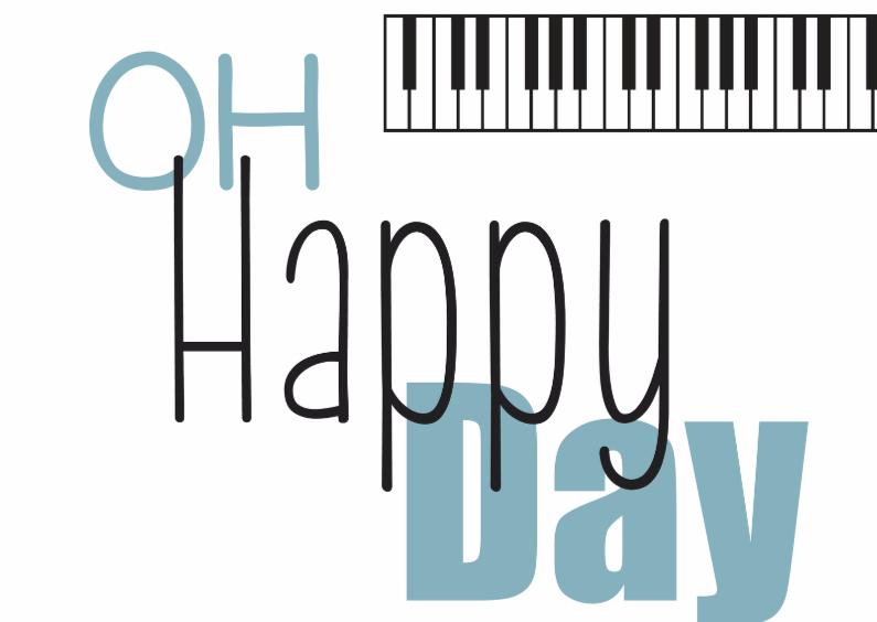 Verjaardagskaarten - Oh Happy Day