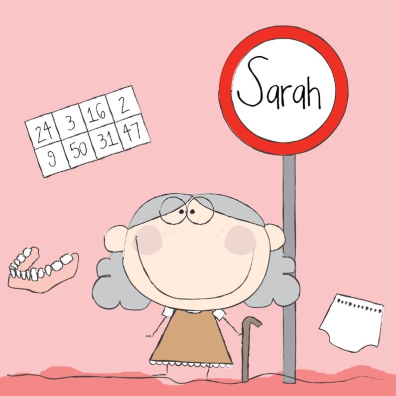 Verjaardagskaarten - Sarah 1