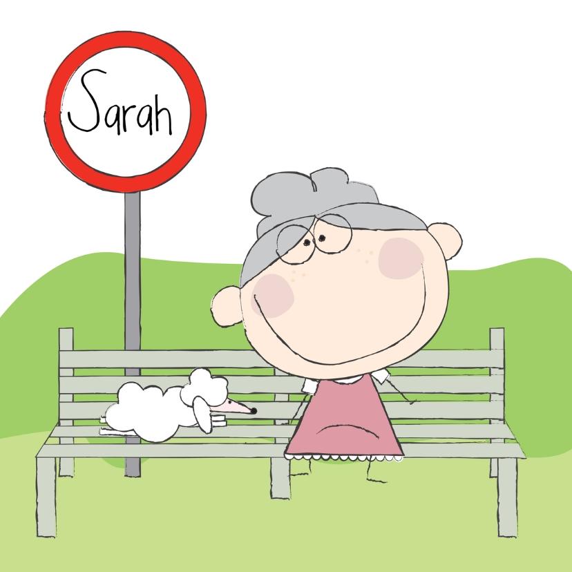 Verjaardagskaarten - Sarah 2