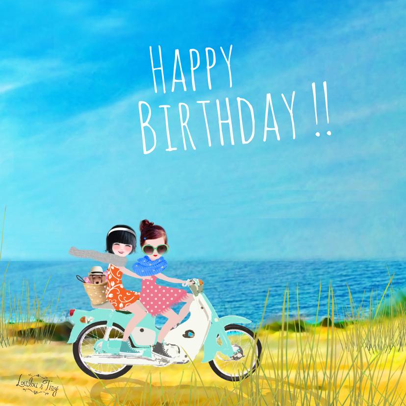 Verjaardagskaarten - Verjaardag Happy Birthday -LT