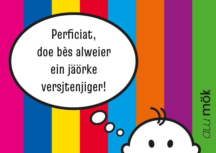 Verjaardagskaarten - Verjaardag Limburgs proficiat
