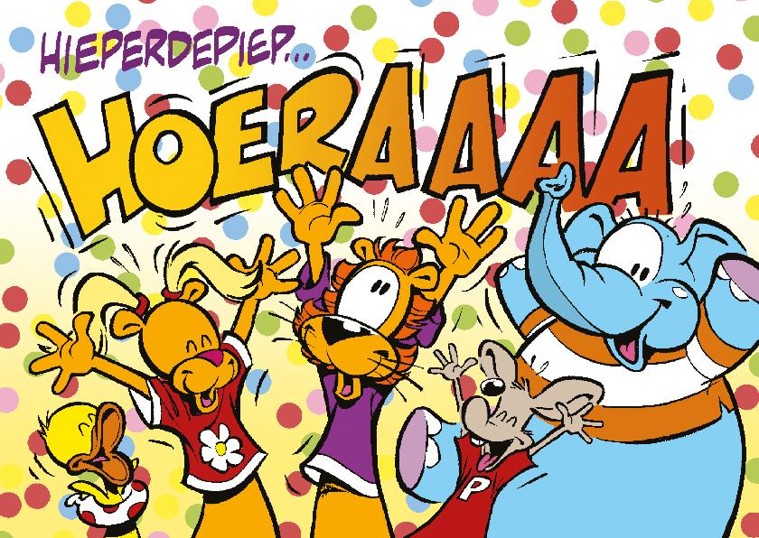 Verjaardagskaarten - Verjaardag Loeki Hoera - A