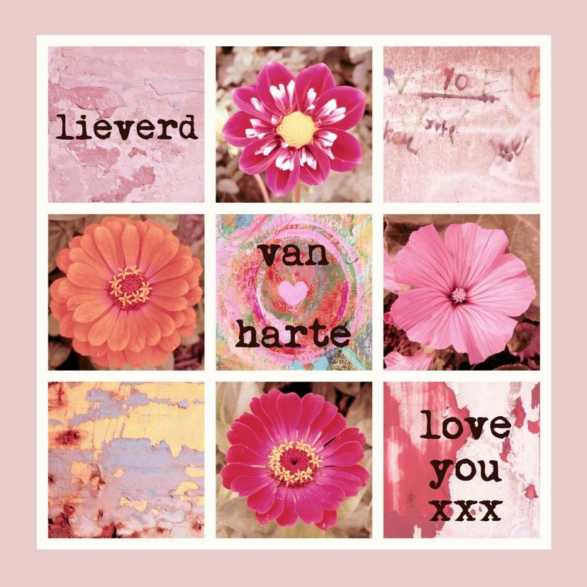 Verjaardagskaarten - Verjaardag love you xxx IW