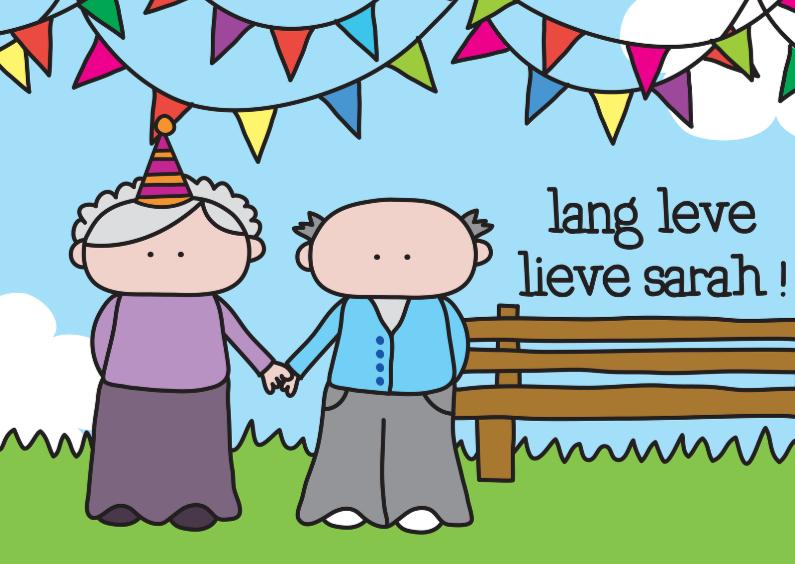 Verjaardagskaarten - Verjaardag Sarah 50 jaar