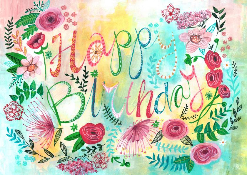 verjaardagskaart online Verjaardagskaarten Gratis Online   ARCHIDEV verjaardagskaart online