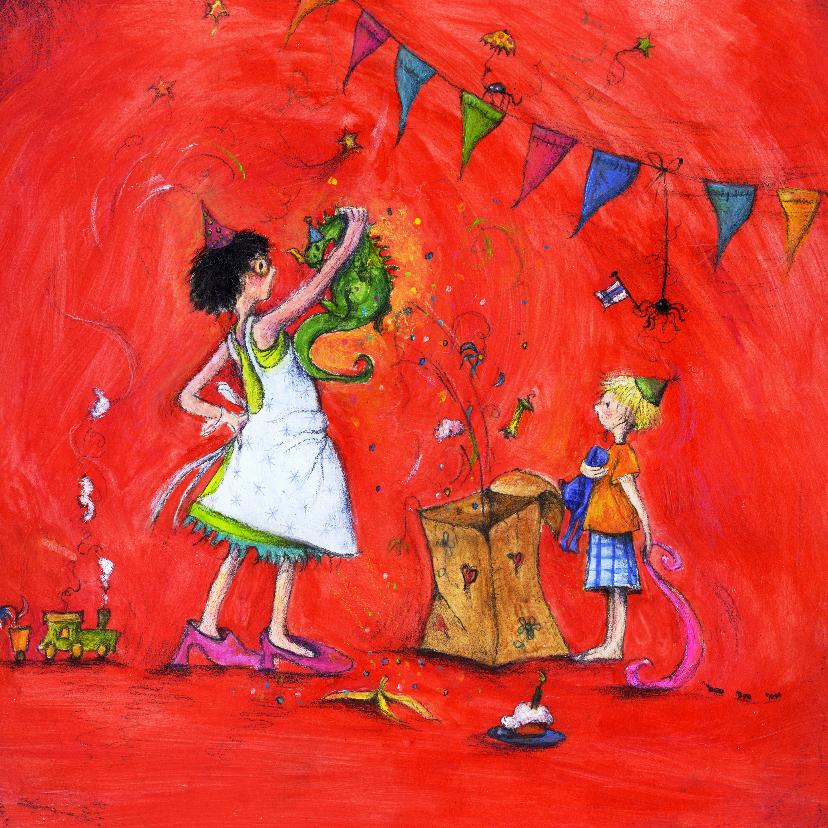Verjaardagskaarten - Verjaardagskaart een verrassing
