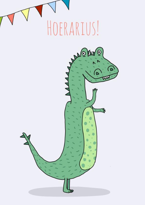 Verjaardagskaarten - Verjaardagskaart Hoerarius!