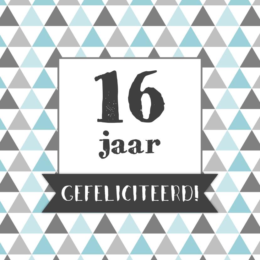 Verjaardagskaarten - Verjaardagskaart leeftijd 2 - WW