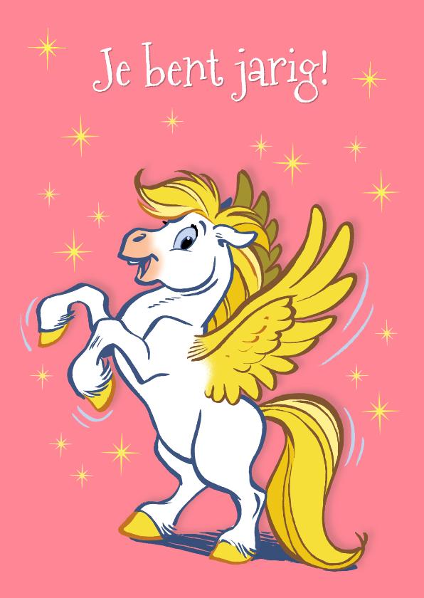 Verjaardagskaarten - Verjaardagskaart paard Florian 2 - A
