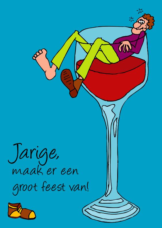 Verjaardagskaarten - Voor de wijnliefhebber