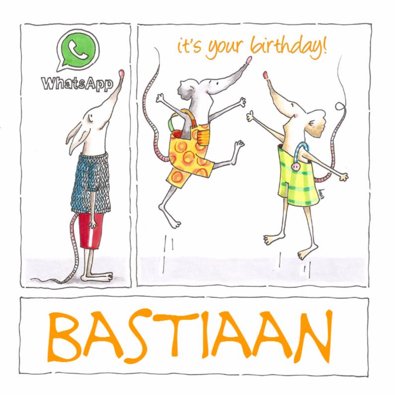 Verjaardagskaarten - Whatsapp?