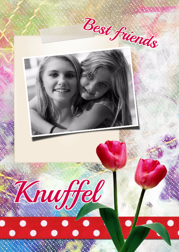 Vriendschap kaarten - Best friends - DH