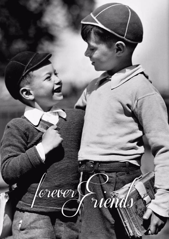 Vriendschap kaarten - Forever friends-isf