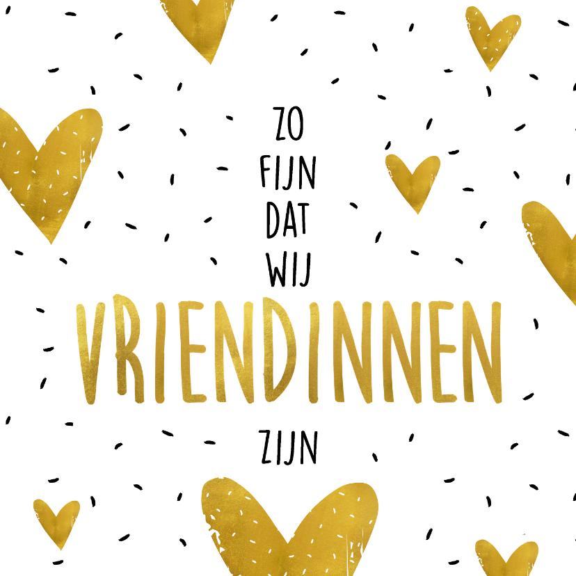 Vriendschap kaarten - Vriendschapskaart zo fijn dat we vriendinnen zijn