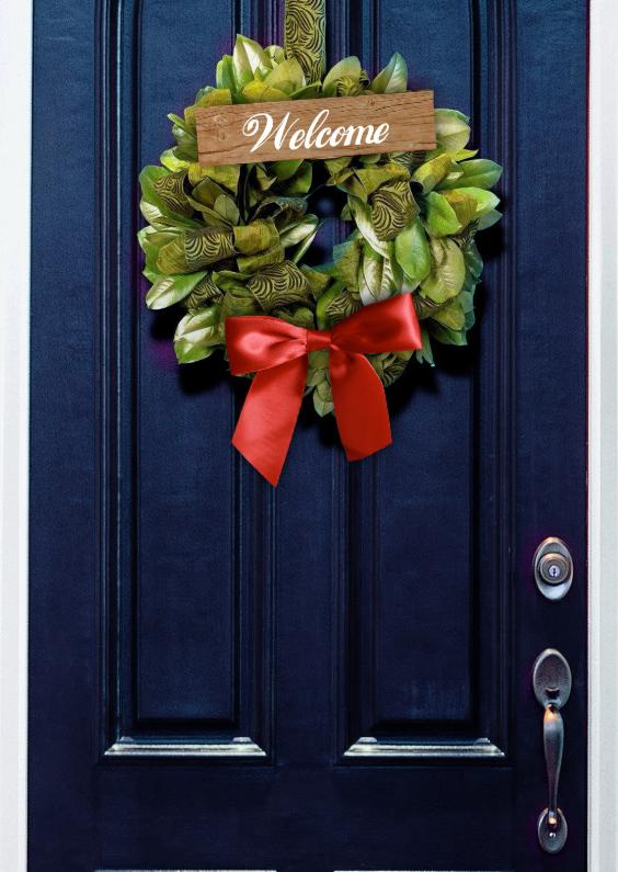 Welkom thuis kaarten - Voordeur