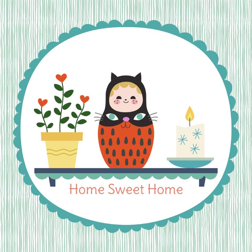 Welkom thuis kaarten - Welkom thuis Matroesjka