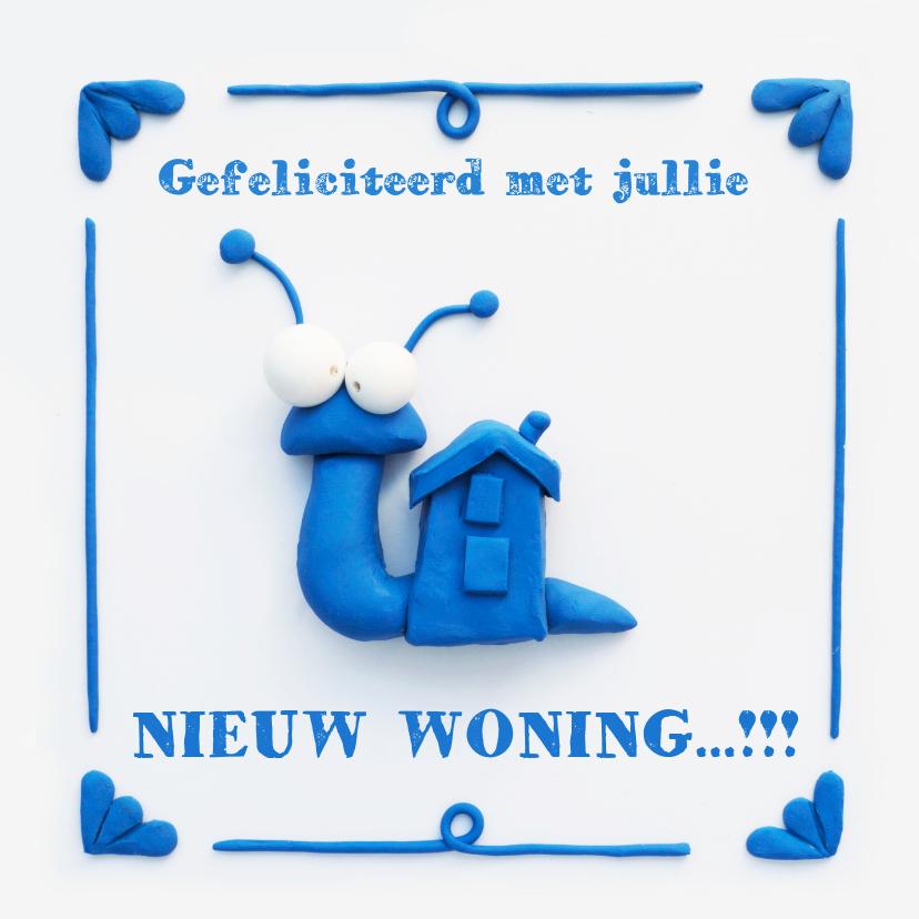 Woonkaarten - Delfts Blauwe Slakkenwoning