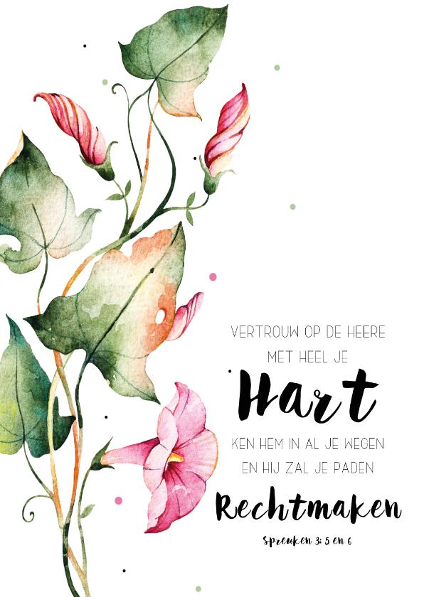 Woonkaarten - Woonkaart: Vertrouw op de Heere