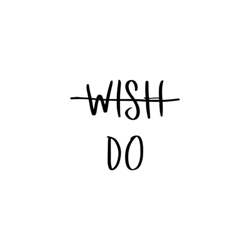 Woonkaarten - Woonkaart 'Wish, Do'