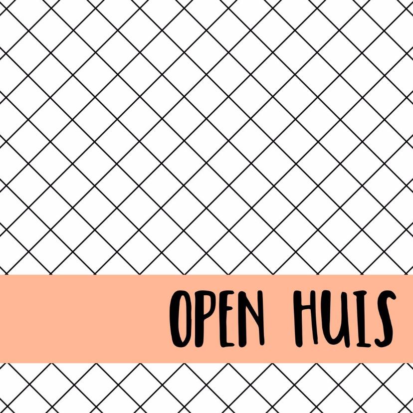 Zakelijke kaarten - Open huis kaart