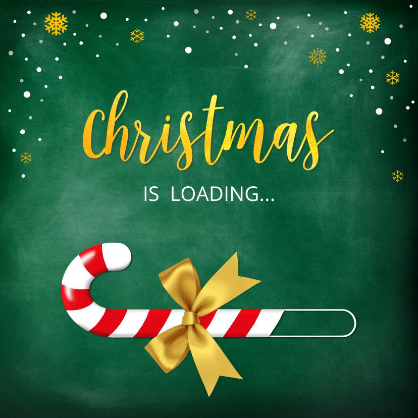 Zakelijke kerstkaarten - Kerstkaart Christmas is loading