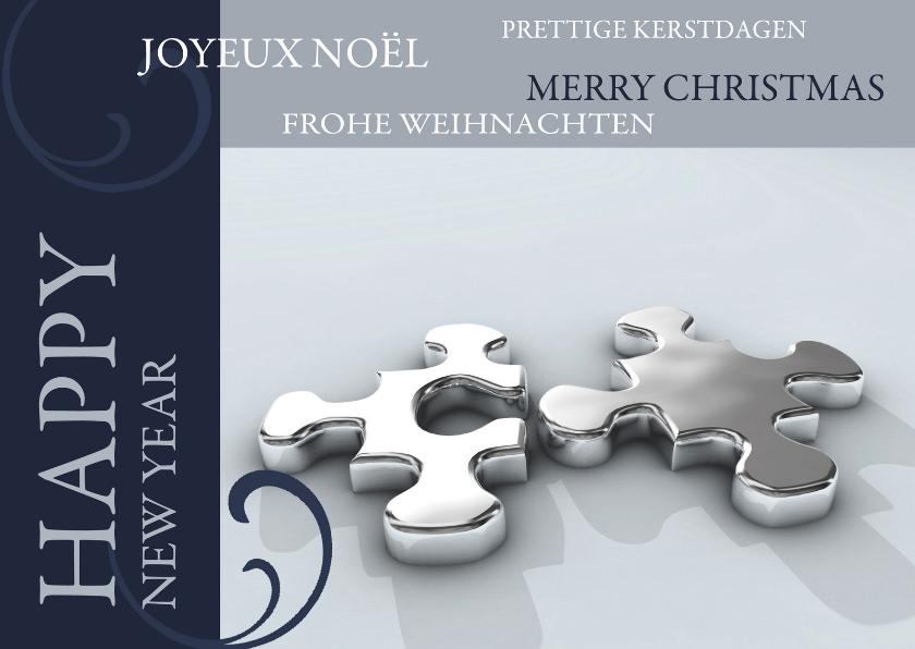 Zakelijke kerstkaarten - Kerstkaart Happy New Year!