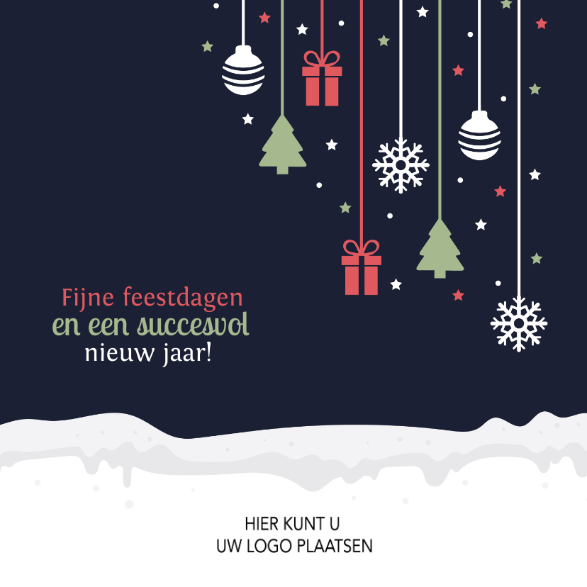 Zakelijke kerstkaarten - Kerstkaart voor zakelijke relatie