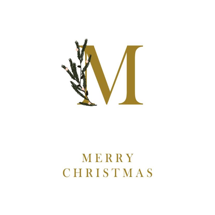 Zakelijke kerstkaarten - Zakelijke kerstkaart M