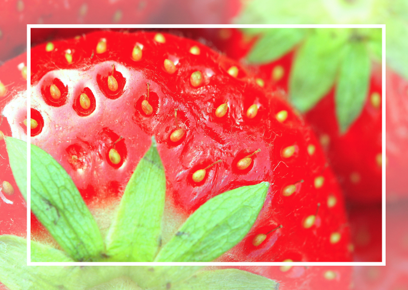 Zomaar kaarten - Aardbeienkaart