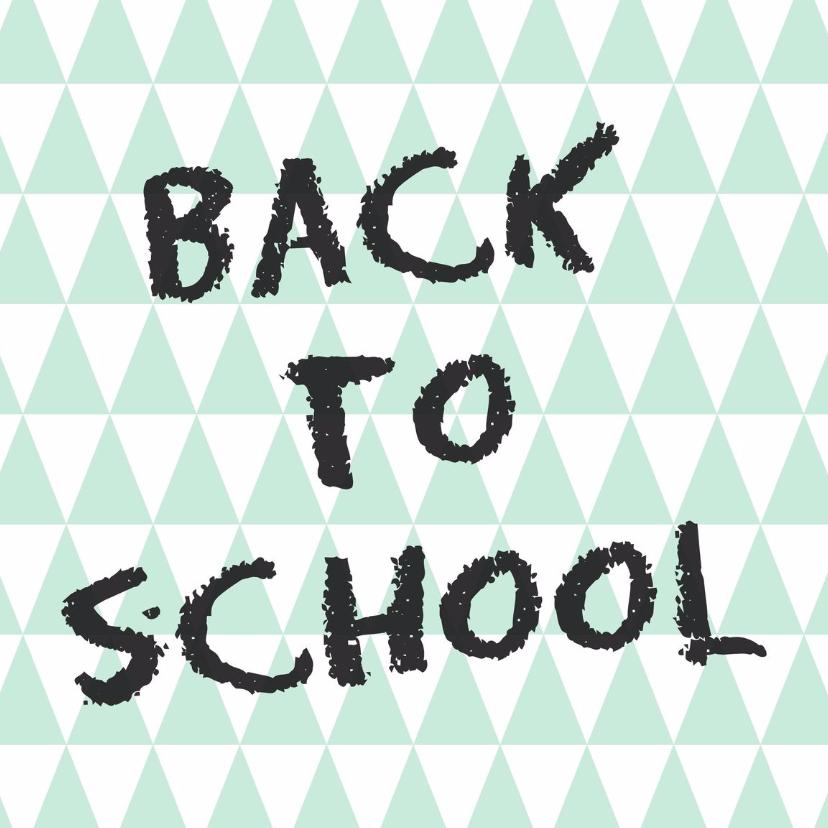 Zomaar kaarten - Back to school Kaart - WW