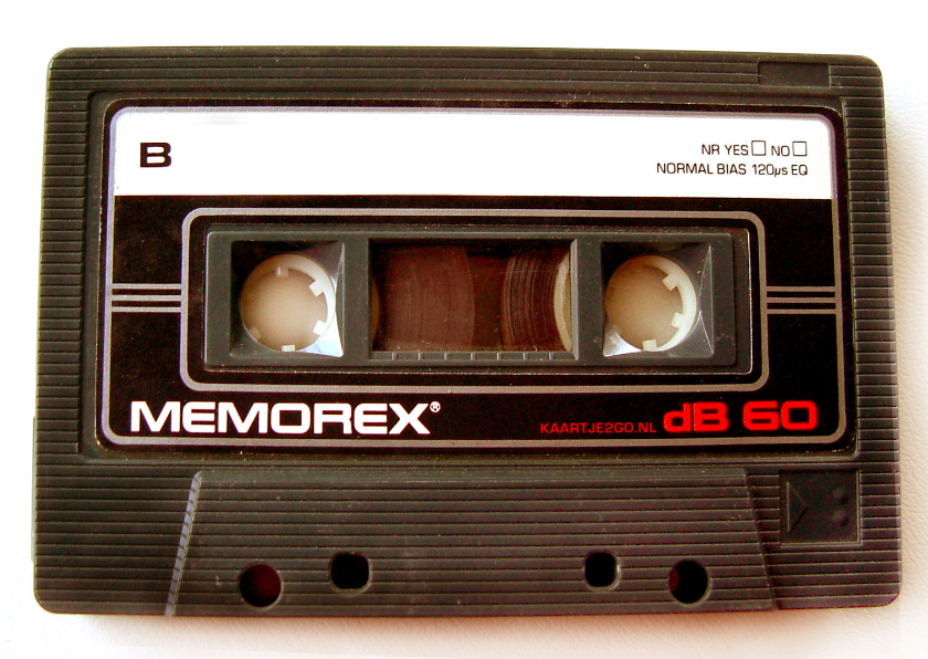 Zomaar kaarten - Cassettebandje