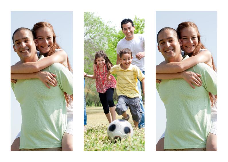Zomaar kaarten - Collage Fotokaart 3 Foto's