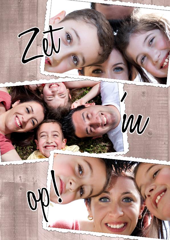 Zomaar kaarten - Collage Zet 'm op! - BK