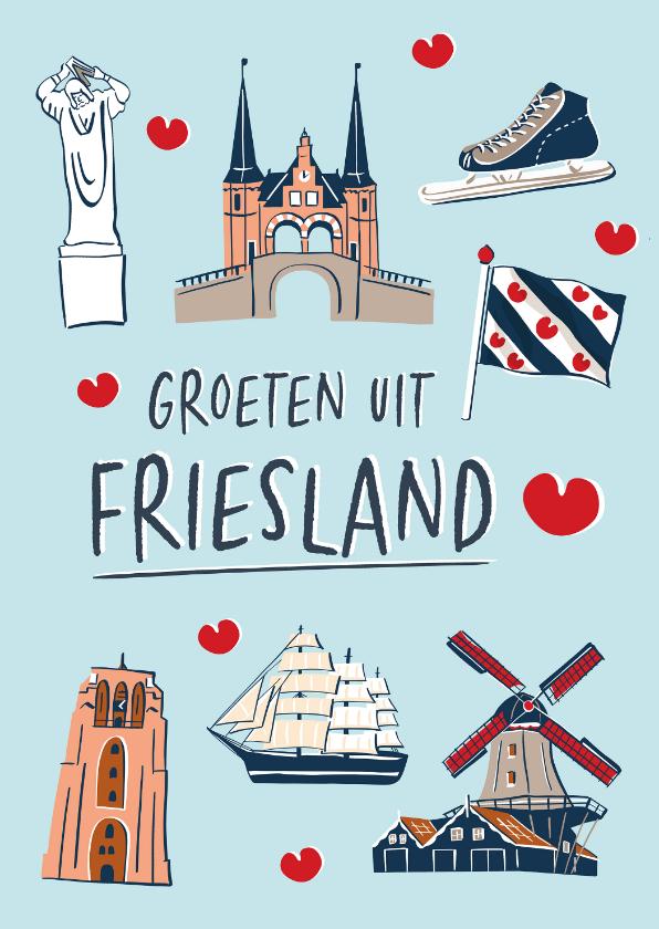 Zomaar kaarten - Groeten uit Friesland