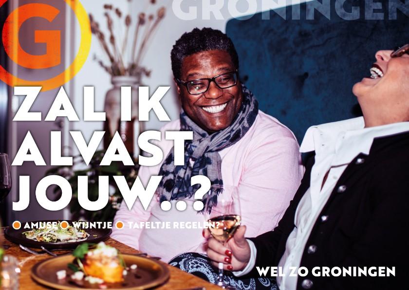 Zomaar kaarten - Groningen: blijf lekker eten