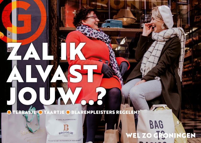 Zomaar kaarten - Groningen: kom shoppen