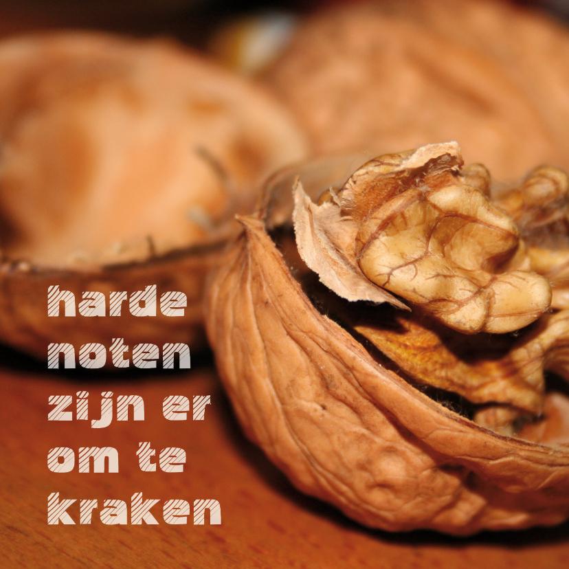 Zomaar kaarten - Harde noten