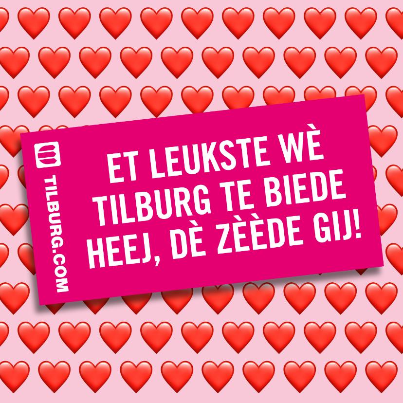 Zomaar kaarten - Het leukste wat Tilburg te bieden heeft, dat ben jij!