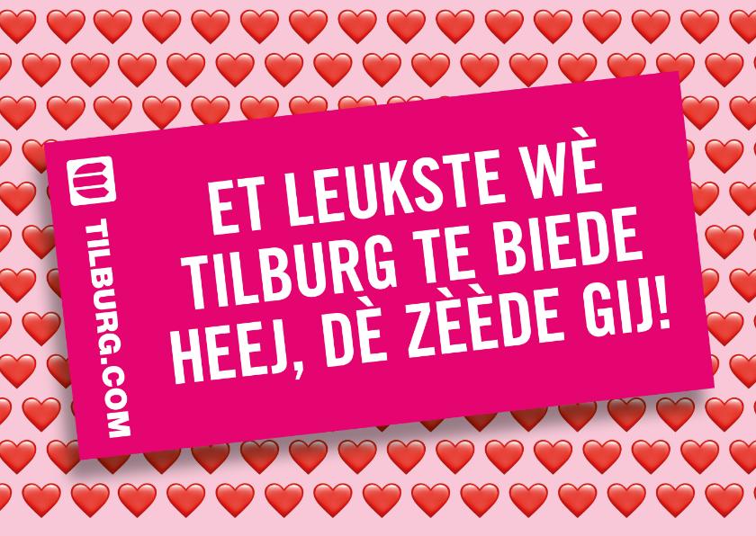 Zomaar kaarten - Het leukste wat Tilburg te bieden heeft....... dè zèède gij!