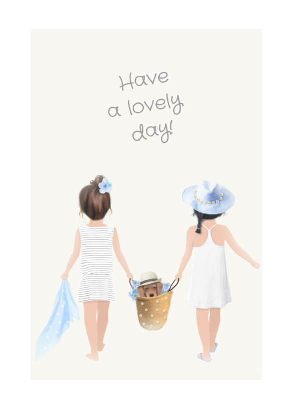 Zomaar kaarten - Lovely Day Loulou & Ting