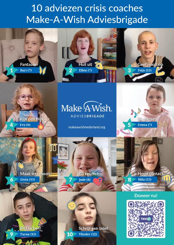 Zomaar kaarten - Make-A-Wish Adviesbrigade 10 adviezen crisis coaches